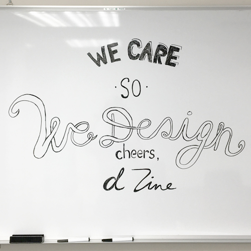 we care so we design dzine